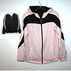 Tops - Pink REVERSIBLE Jacket LARGE
